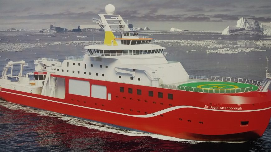 The RRS Sir David Attenborough (or Boaty McBoatface if you prefer)