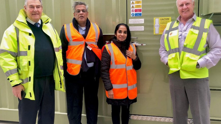 A visit from Pratex Power Vision, India