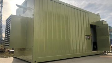 chilling generator external canopy